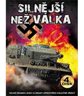Silnější než válka (Stronger than War) – 4. DVD – SLIM BOX