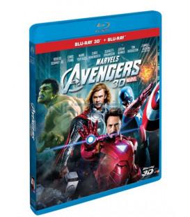 Mstitelé (The AVENGERS 2012) - 3D + 2D (Combo Pack) Blu-ray