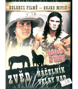 Zvěd + Náčelník Velký had (Der Scout+Chingachgook, die große Schlange) DVD