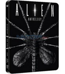 Vetřelci:Vetřelec,Vetřelci,Vetřelec 3,Vetřelec-Vzkříšení 4 x Blu-ray