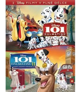 101 DALMATINŮ KOLEKCE dvou filmů 2 DVD