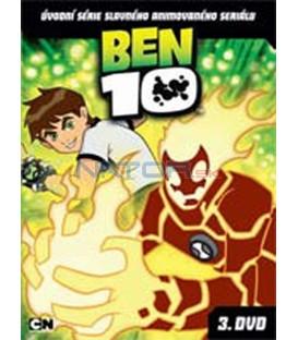 BEN 10 – 3. DVD – SLIM BOX