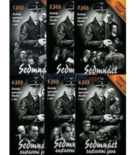 Komplet Sedmnáct zastavení jara za polovinu! Unikátní barevná verze - SLIM BOX 6 x DVD