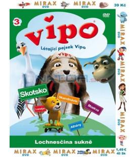 Vipo 3 - Létající pejsek Vipo: Lochnesčina sukně (VIPO: Adventures of The Flying Dog)
