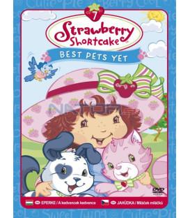 Jahůdka 7 - Miláček miláčků (Strawberry Shortcake: Best Pets Yet) DVD