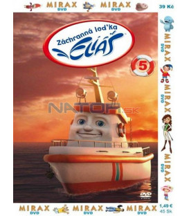 Záchranná loďka Eliáš 5 (Elias: The Little Rescue Boat) DVD
