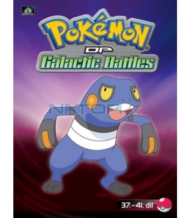 Pokémon (XII): DP Galactic Battles 37.-41.díl (DVD 8)