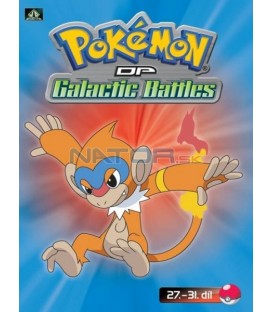 Pokémon (XII): DP Galactic Battles 27.-31.díl (DVD 6)