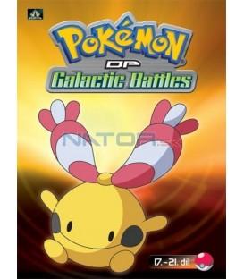 Pokémon (XII): DP Galactic Battles 17.-21.díl (DVD 4)