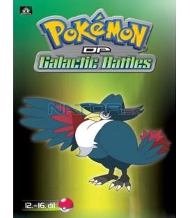 Pokémon (XII): DP Galactic Battles 12.-16.díl (DVD 3)