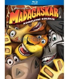 Madagaskar 1-3 (Blu-ray)  (Madagascar 1-3) - 3 X Blu-ray