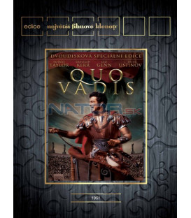 Quo Vadis 2DVD   (Quo Vadis)-Edice Největší Filmové klenoty
