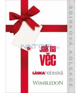 Kolekce filmů: Jak na věc + Láska nebeská + Wimbledon 3 x DVD