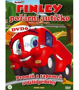 Finley požární autíčko 6 (Finley the Fire Engine) DVD