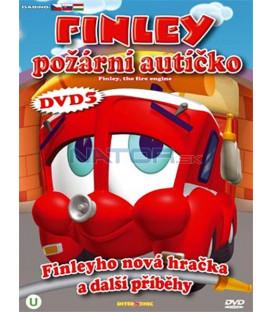 Finley požární autíčko 5 (Finley the Fire Engine) DVD