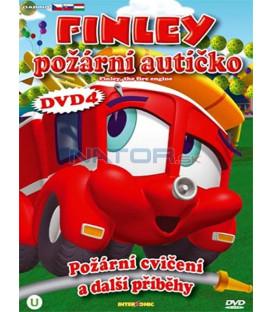 Finley požární autíčko 4 (Finley the Fire Engine) DVD