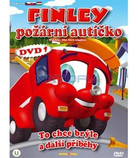 Finley požární autíčko 1 (Finley the Fire Engine) DVD