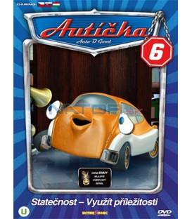 Autíčka 6 (Auto B-Good 6) DVD