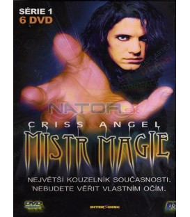 Criss Angel: Mistr magie 1. série 6 DVD