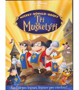 "Tři mušketýři (Mickeys ""The Three Musketeers"") DVD"