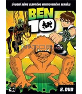BEN 10 – 8. DVD – SLIM BOX