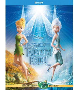 ZVONILKA A TAJEMSTVÍ KŘÍDEL (Tinker Bell: Secret of the Wings) - Blu-ray