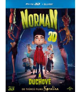 Norman a duchové 3D + 2D (Blu-Ray 3D)