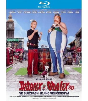 ASTERIX A OBELIX VE SLUŽBÁCH JEJÍHO VELIČENSTVA ( Astérix et Obélix: Au Service de Sa Majesté) - 3D + 2D Blu-ray
