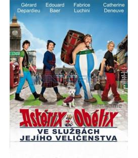 ASTERIX A OBELIX VE SLUŽBÁCH JEJÍHO VELIČENSTVA ( Astérix et Obélix: Au Service de Sa Majesté) DVD