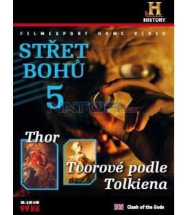 STŘET BOHŮ 5-Thor, Tvorové podle Tolkiena (Clash of the Gods: Thor, Tolkien´s Monsters Clone) DVD
