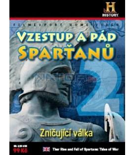 VZESTUP A PÁD SPARŤANŮ 2 – Zničující válka DVD