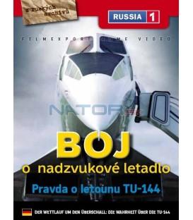 Boj o nadzvukové letadlo: Pravda o letounu TU-144 (Der Wettlauf um den Überschall: Die Wahrheit über die TU-144) DVD