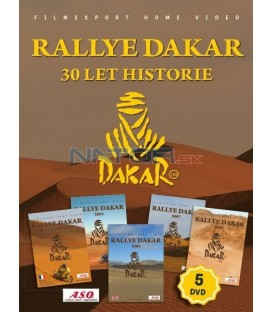 RALLYE DAKAR - 30 LET HISTORIE, (DAKAR, 30 ans de petites et grandes histoires) 5DVD