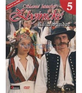 Slavné historky zbojnické - 5 - Róža Šándor DVD