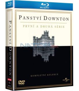 Panství Downton 1 + 2 KOLEKCE 6BD (Blu-Ray)