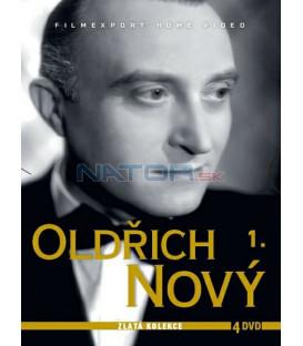 Oldřich Nový 1 - Zlatá kolekce 4 DVD