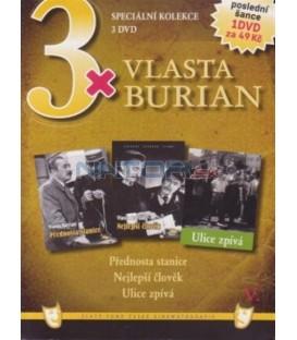 3x Vlasta Burian V: Přednosta stanice / Nejlepší člověk / Ulice zpívá DVD