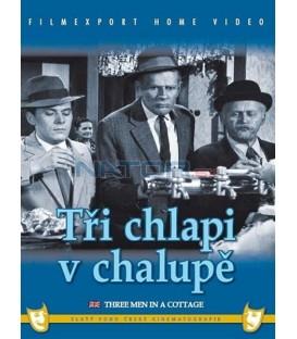 Tři chlapi v chalupě DVD