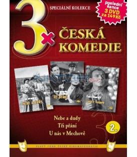 3x Česká komedie II - Nebe a dudy / Tři přání / U nás v Mechově DVD
