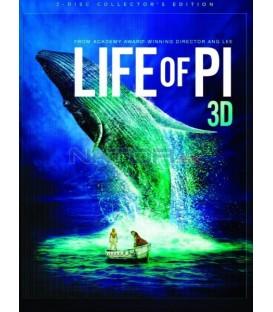 PÍ A JEHO ŽIVOT ( Life of Pi) - Blu-ray 3D, 2 disky, Steelbook, Lenticular