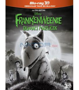 Frankenweenie: Domácí mazlíček (Frankenweenie) - Blu-ray 3D + 2D