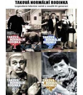 Kolekcia: Taková normální rodinka 4 X DVD