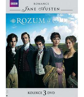 Kolekcia: Rozum a cit 3 X DVD