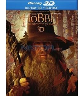 HOBIT: NEOČEKÁVANÁ CESTA (The Hobbit: An Unexpected Journey) 4Blu-ray 3D+2D steelbook