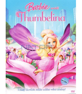 Barbie-Thumbelina (Barbie Presents: Thumbelina) Thumbelina limitovaná edice s přívěškem DVD