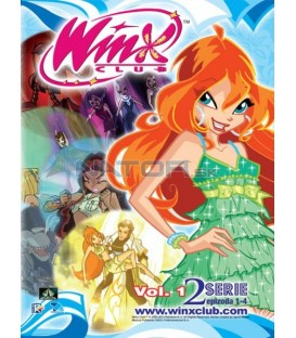 Winx Club séria 2 - (1 až 4 diel) DVD