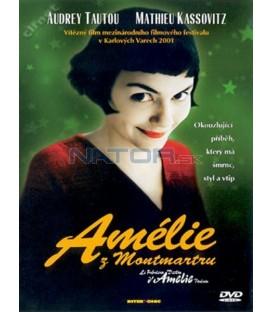 Amélie z Montmartu (Le fabuleux destin d´Amelie Poulainňň) DVD