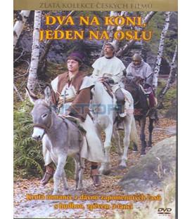 Dva na koni, jeden na oslu DVD