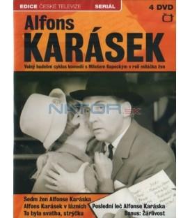 Alfons Karásek (Miloš Kopecký) - KOMPLET - 4xDVD