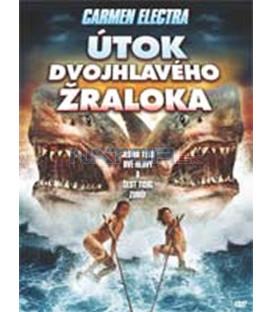 Útok dvojhlavého žraloka (2 Headed Shark Attack) – SLIM BOX DVD DVD